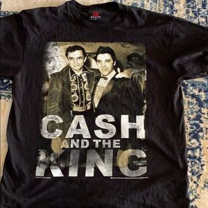 Zion Rootswear Cash And The King Black T-shirt